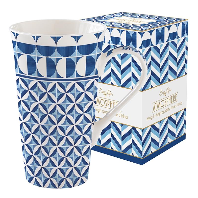 Porcelain Cup - Coffee Mania - GBLU