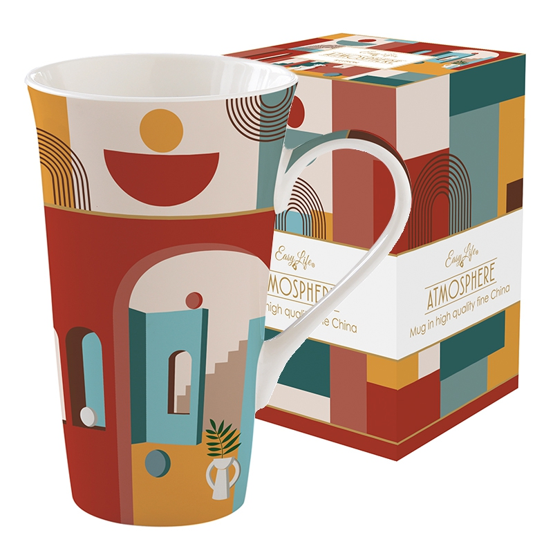 Porcelain Cup - Coffee Mania - ILLU