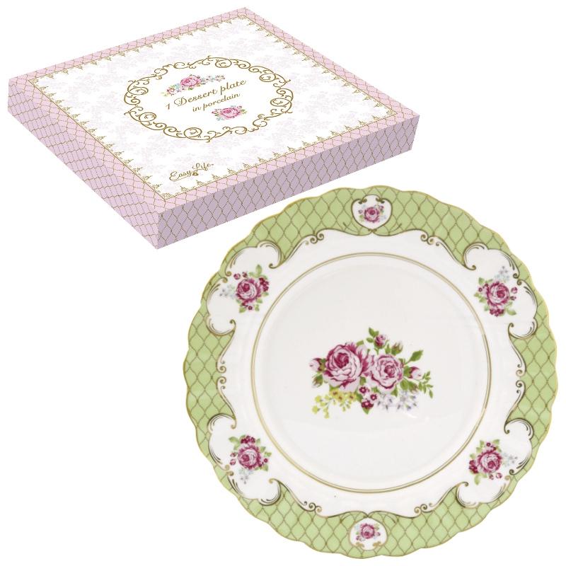 Plato de porcelana de 19 cm. - Heritage collection