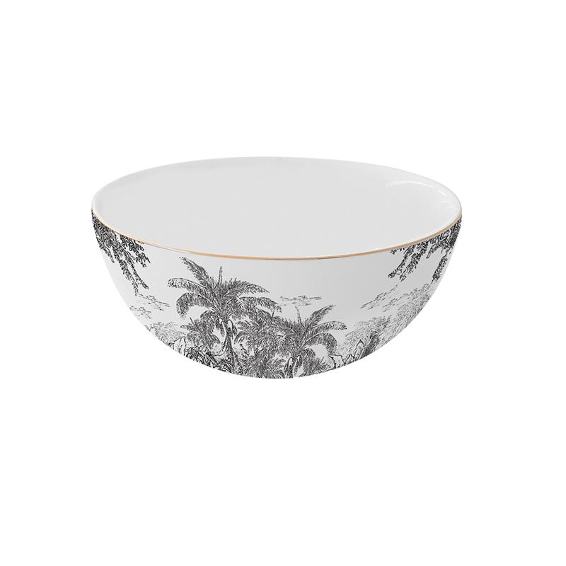 Porcelain bowl - Rain Forest