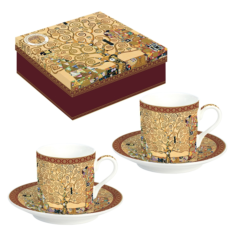 Porcelain Cup - Masterpice - 2 mug in gift box