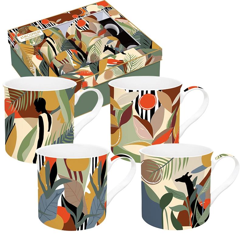 Set of cups 300ml - Coffee Mania - KILI