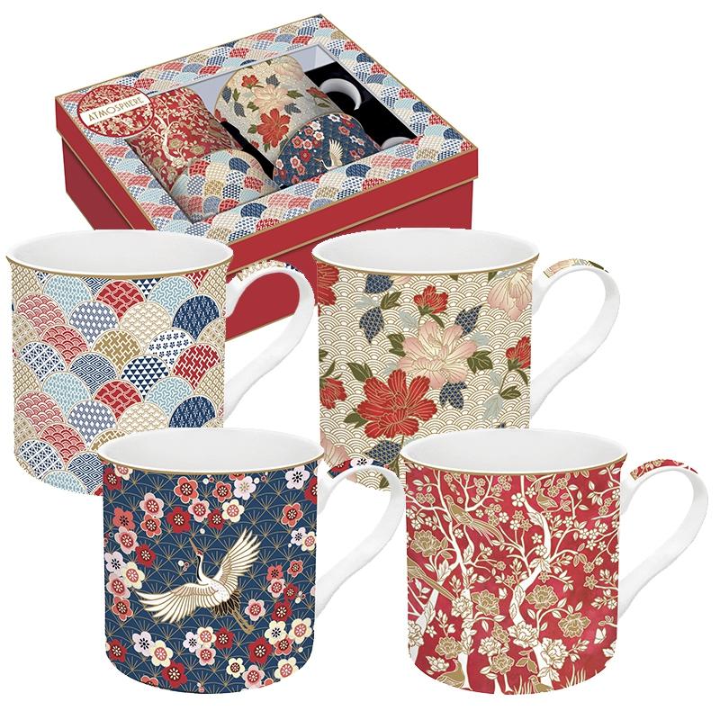 Set of cups 300ml - Coffee Mania - OKIN