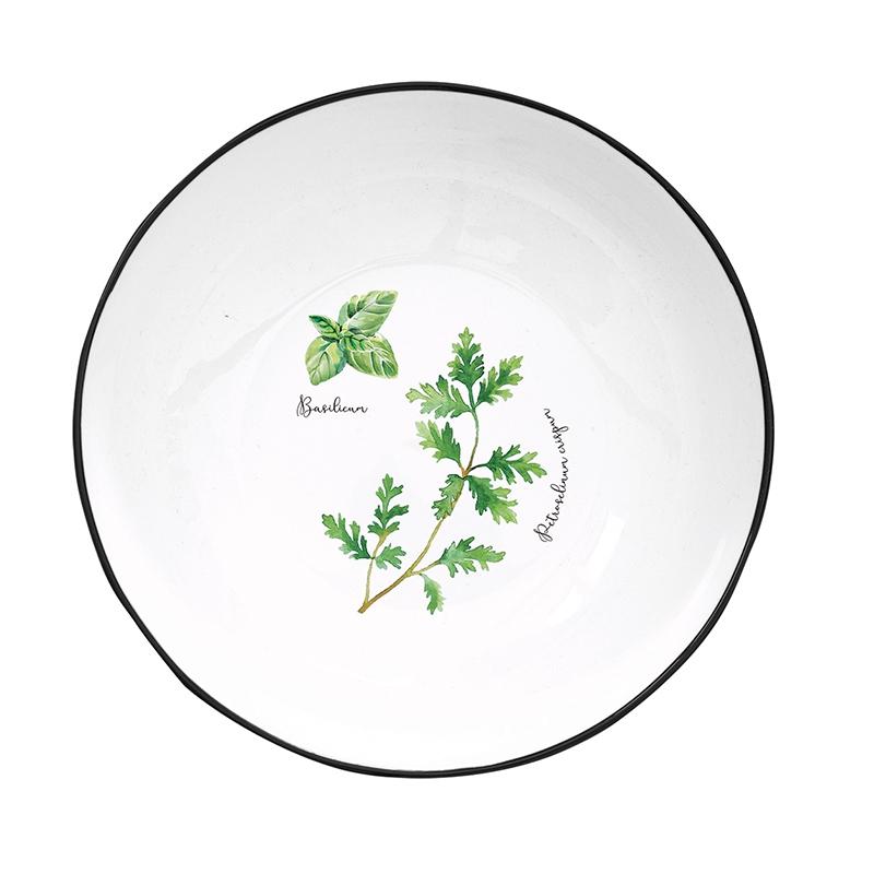 Soup plate 18cm - Hebarium