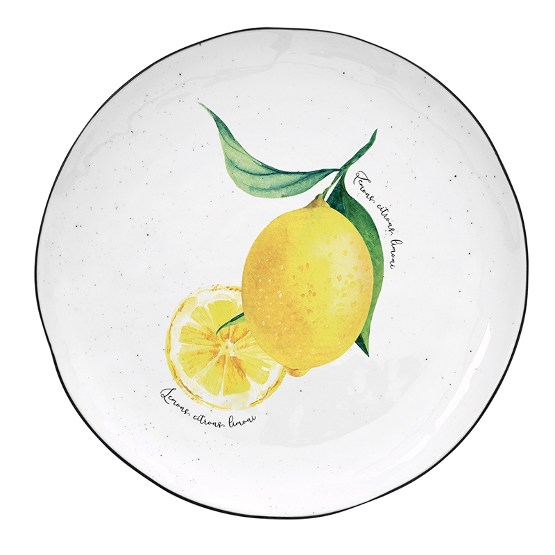 Plato de porcelana de 21 cm. - Amalfi
