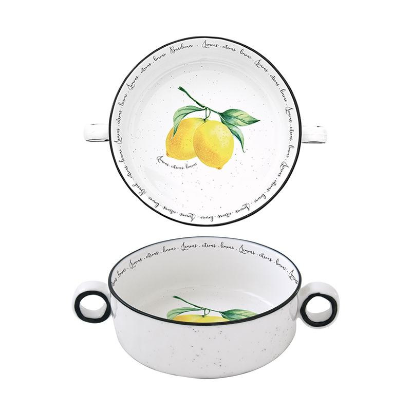 Porcelain Bowl - Amalfi