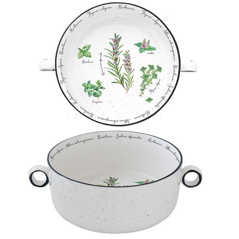 Porcelain Bowl - Hebarium