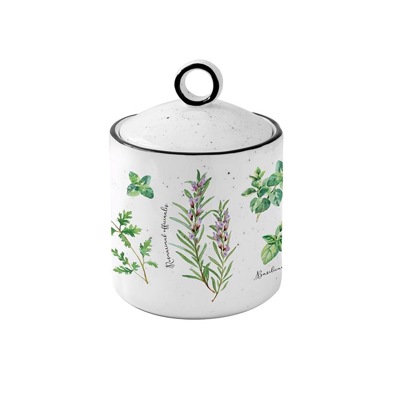 Porcelain box - Hebarium