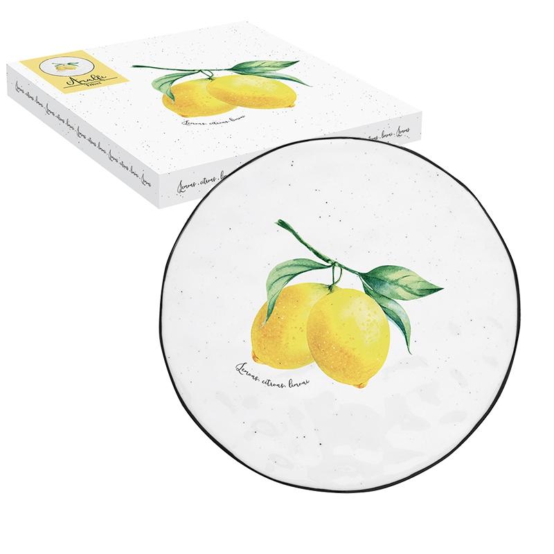 Porcelain plate 20cm - Amalfi