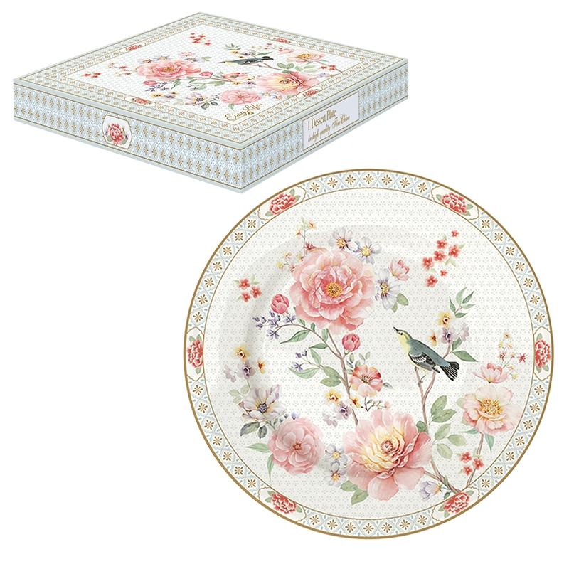 Plato de porcelana de 19 cm. - A Day in the Garden