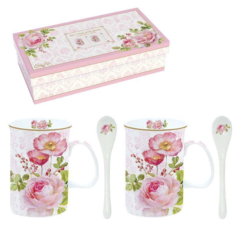 Tazza di porcellana - Floral Damask
