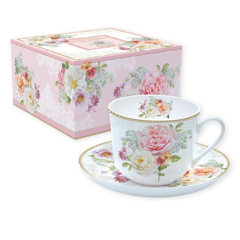Taza de porcelana - Romantic Lace