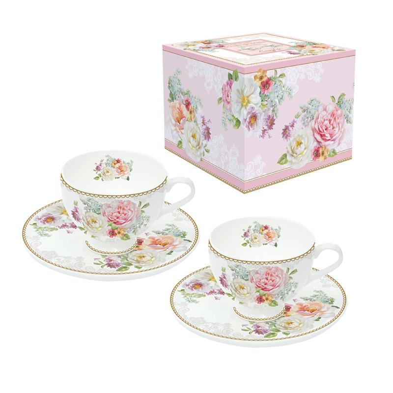 Porcelain Cup - Romantic Lace
