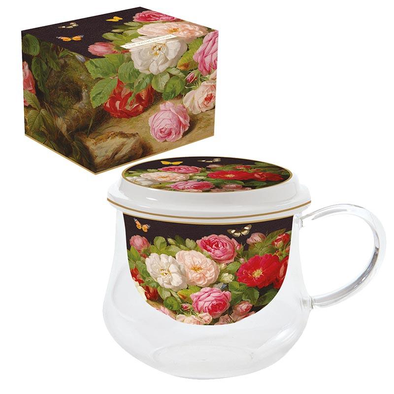 Porcelain Cup - Victorian Garden