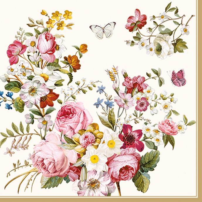 Tovaglioli 33x33 cm - Blooming Opulence