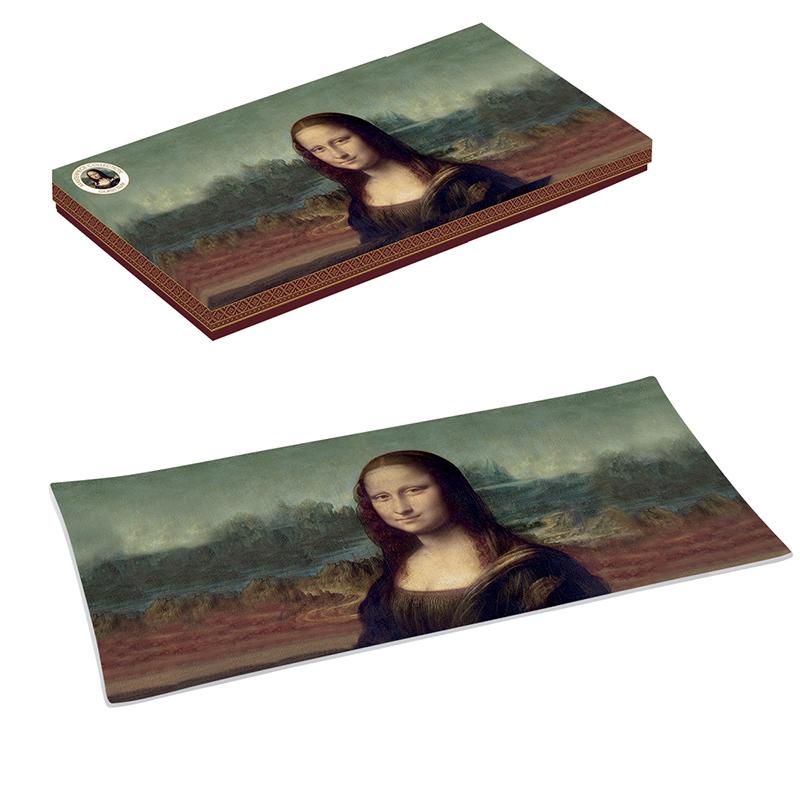 Vassoio di vetro 36x17 cm - Masterpice