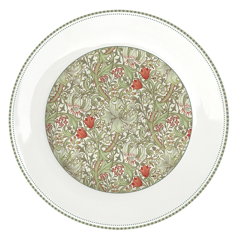 Porcelain plate 26,5cm - William Morries