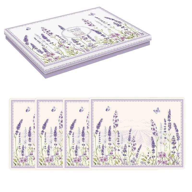 Manteles de corcho - Lavender Field