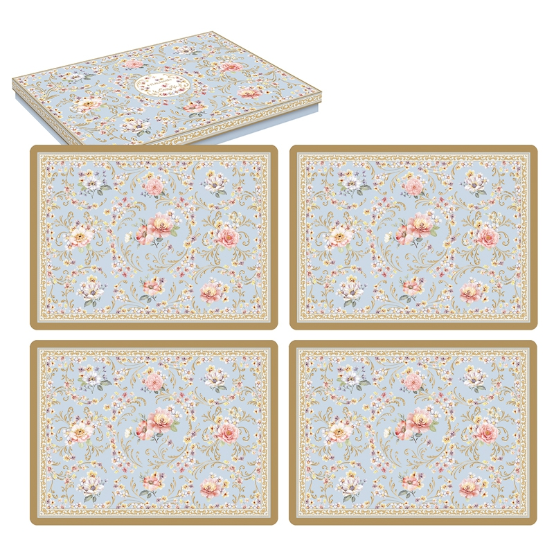 Cork placemats - Majestic Flowers