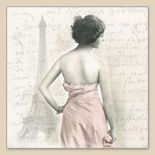 Napkins 33x33 cm - LADY-PARIS