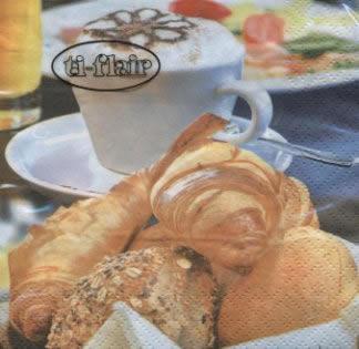 Napkins 24x24 cm - Breakfast Delights