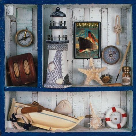 Napkins 33x33 cm - Voyage de Mer