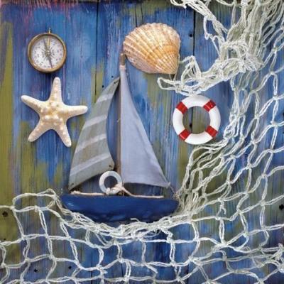 Serwetki 33x33 cm - Coastal Memories